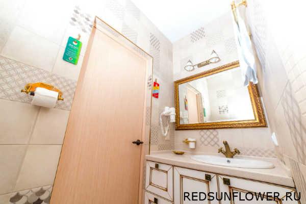 Аксесуары ванной комнаты номера «Премиум»