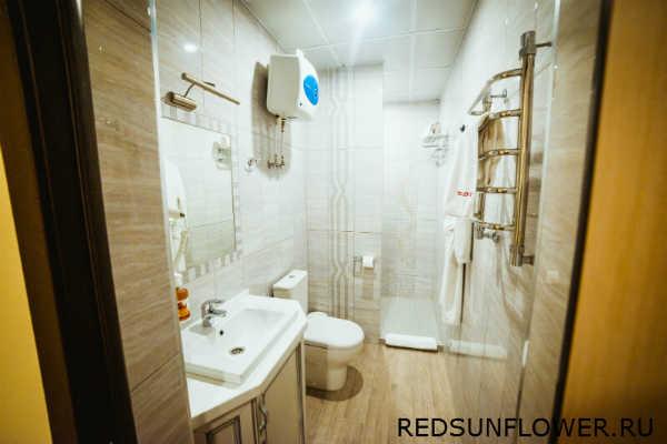 Интерьер ванной комнаты номера «Премиум»