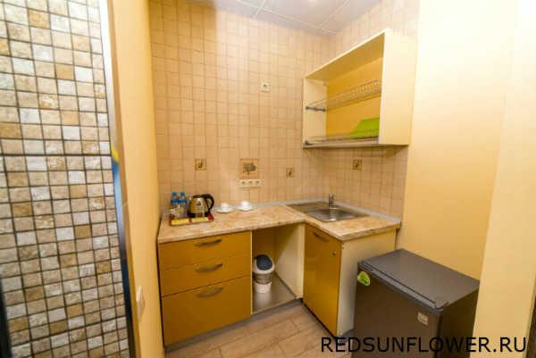 Кухонная мебель гостиничного номера «Стандартдвухместный»