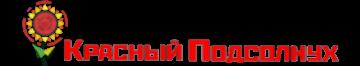 Шапка сайта с логотипом гостиницы Красный Подсолнух для мобильной версии